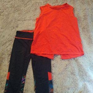 Girls Avia activewear set